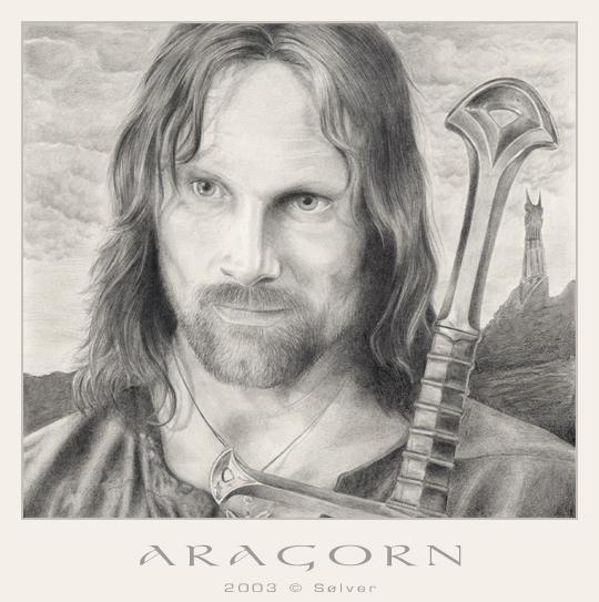 Aragorn portræt