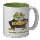 Cornfrog mug