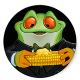 Cornfrog sticker