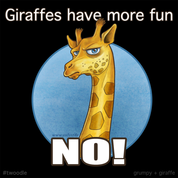 Twoodle - Grumpy Giraffe