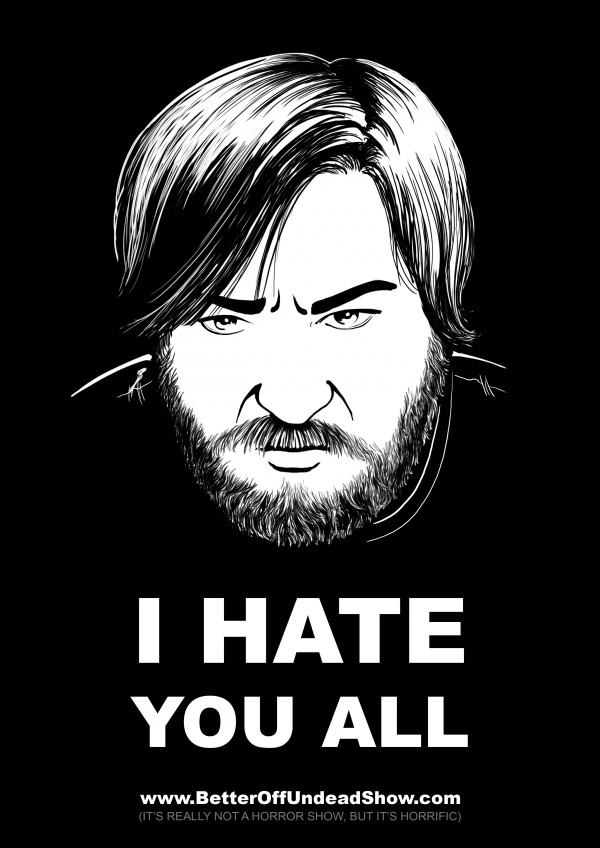 I hate you all - David W. Wright