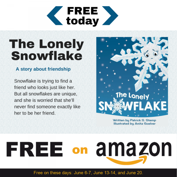 The Lonely Snowflake - gratis på Amazon i dag